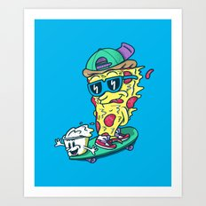 Pizza and Ranch Art Print
