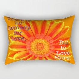Thoreau Quote Rectangular Pillow