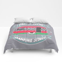Take A Break Glamping Style! Comforters