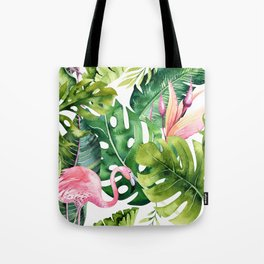 Tropical & flamingo collection Tote Bag