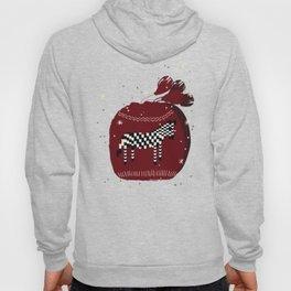 Knitted Zebra Beanie Hoody