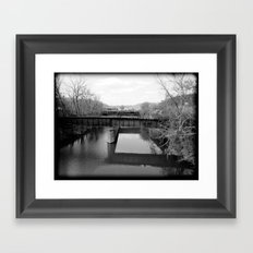 Absent Framed Art Print