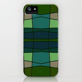 Green Pattern Turtle iPhone Case