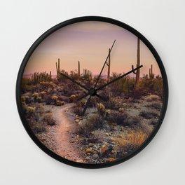Sonoran Sunset Wall Clock