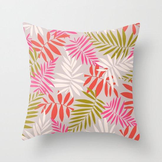 Tropical fell Throw Pillow