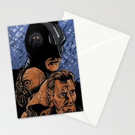 ra's al ghul's sons Stationery Cards