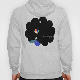 If I could only Fly-Moon series Hoody