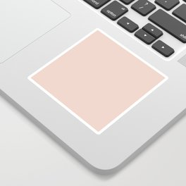 Pink Sand Pale Rose Gold Nude Sticker