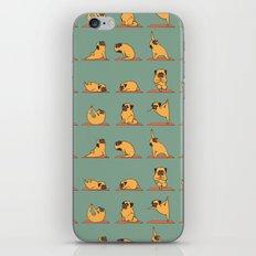 Pug Yoga iPhone & iPod Skin