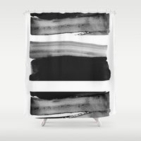 rothko Shower Curtains featuring TY01 by Georgiana Paraschiv