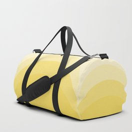 Four Shades of Yellow Curved Duffle Bag