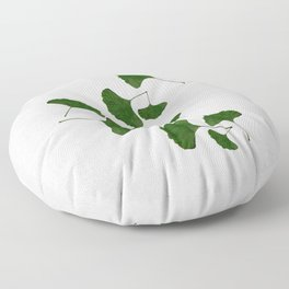 Ginkgo Leaf I Floor Pillow