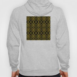 Chicago Cigar Bar Gold and Black Art Deco Hoody