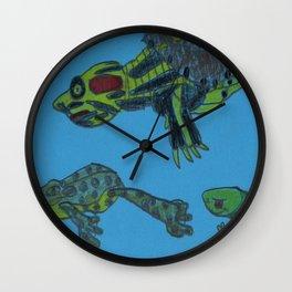 Turtle's Buddies Wall Clock