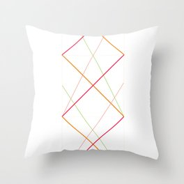 x pattern x&0 Throw Pillow
