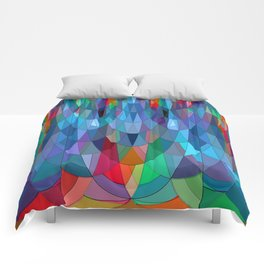 The Many Colors of the Mermaid.... Comforters