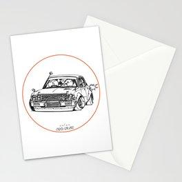 Crazy Car Art 0224 Stationery Cards