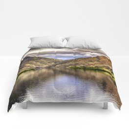 Snake River in Hells Canyon Comforters