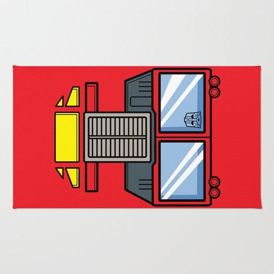 Transformers - Optimus Prime Rug