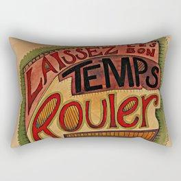 Laissez Les Bon Temps Rouler Rectangular Pillow