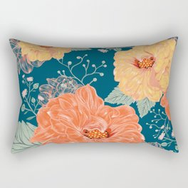 Gorgeous Flowers Rectangular Pillow