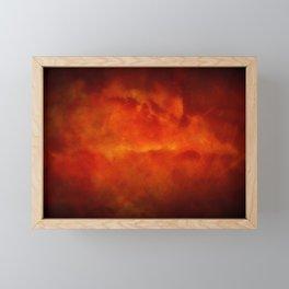 Firestorm In Heaven - Gothic Glam Clouds Framed Mini Art Print