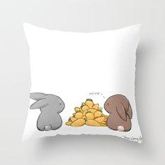 Mine Throw Pillow