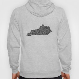 Typographic Kentucky Hoody