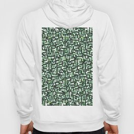 shapes and leaves Hoody