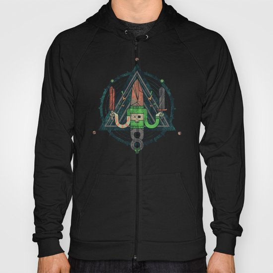 He, with the peculiar voice Hoody