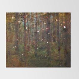 Midsummer Night's Dream Throw Blanket