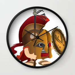 Romulus soldier stand Wall Clock