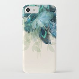 Beautiful Peacock Feathers iPhone Case