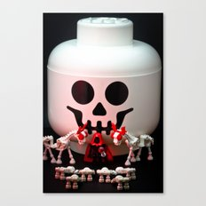 All Hail the Storage Jar Canvas Print