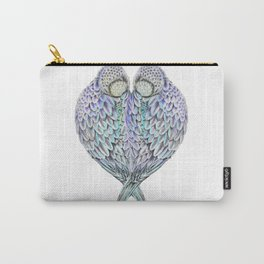 LOVE BIRDS IN COLOUR Carry-All Pouch
