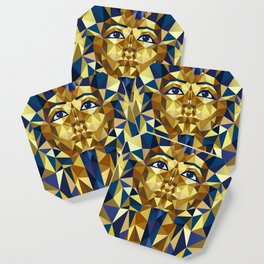 Golden Tutankhamun - Pharaoh's Mask Coaster