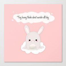 tiny bunny Canvas Print