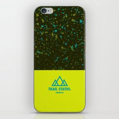 Trail Status / Green iPhone & iPod Skin