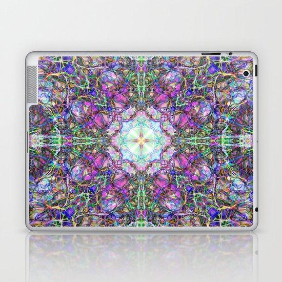 Abstract Colorful Mandala Weave Laptop & iPad Skin