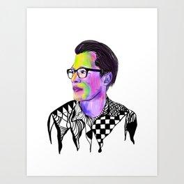 #colorful art #print Art Print