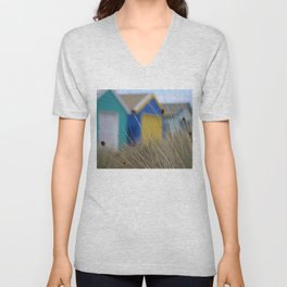 Beach Bathing Boxes Unisex V-Neck