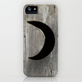 Outhouse Moon iPhone Case