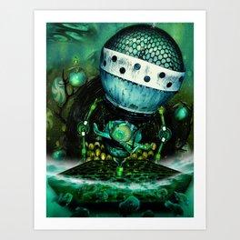 Quadropus Art Print