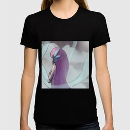 Gijinka Angel Ogura on the Clouds T-shirt