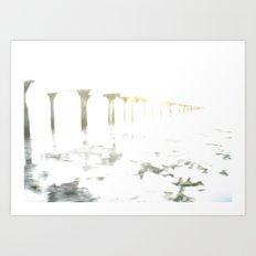 Of Fading Dreams Art Print