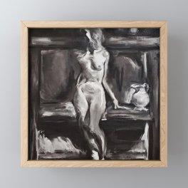 Steve Huston Study Framed Mini Art Print