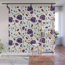 Cell Organelles - Color Wall Mural