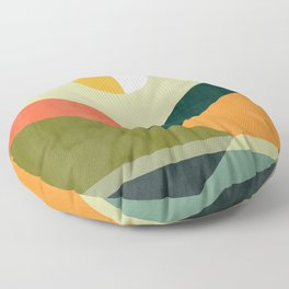 Hidden shore Floor Pillow