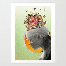 Inside of Me Art Print