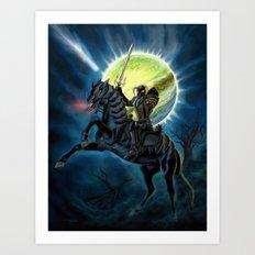 Heavy Metal Knights Art Print